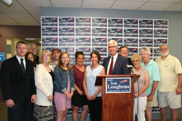 Tom Loughran - Senate Announcement - Amherst Democratic Headquarters
