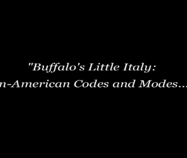 The Buffalo News Owes Buffalos Italian Community An Apology