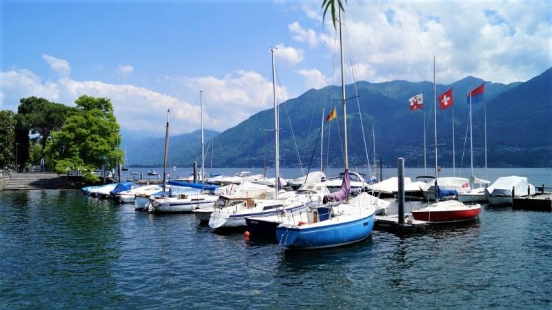 idyllische Ruhe auf dem Lago Maggiore