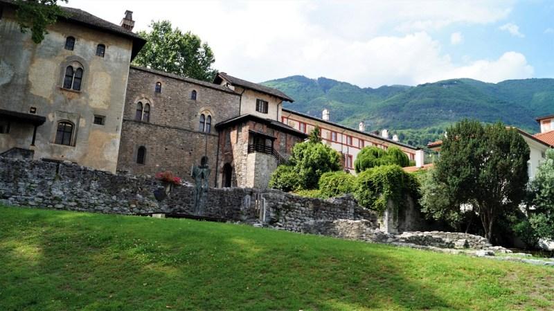 Castello Visconteo noch zu einem fünfte erhalten