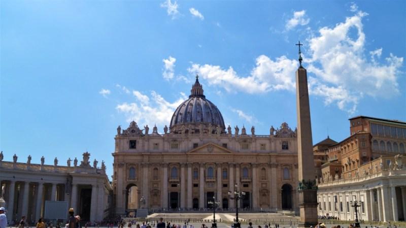 Der Petersdom - gigantisch und einprägsam