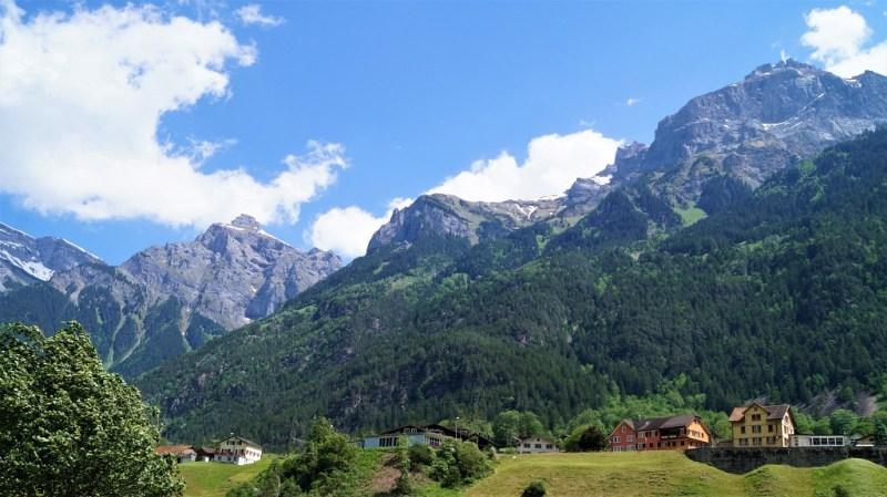 Der Kanton Uri in der Schweiz