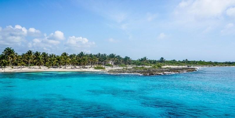 Strand in Mexiko
