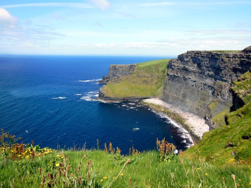Cliffs of Moher bei windigem Wetter