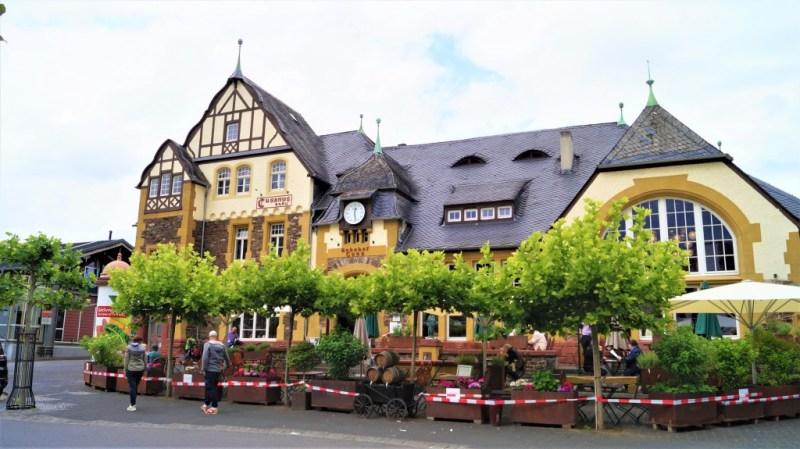 Bahnhof in Bernkastel-Kues