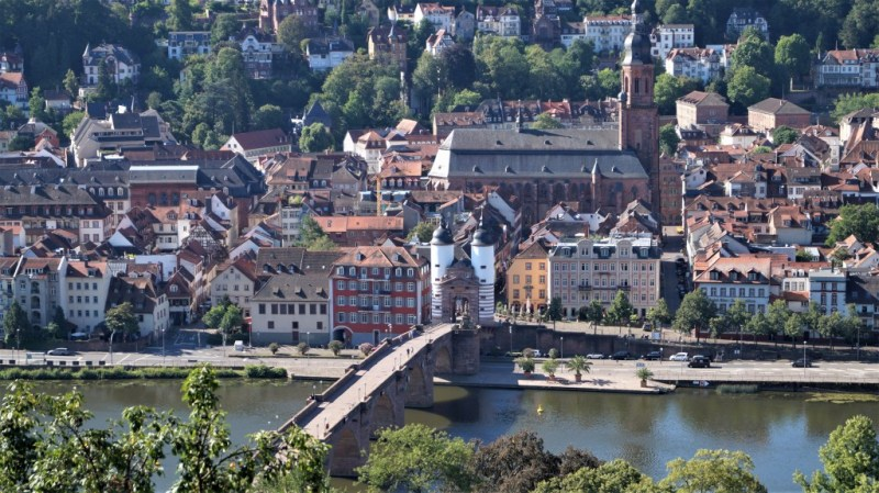 Altes Brückentor in Heidelberg