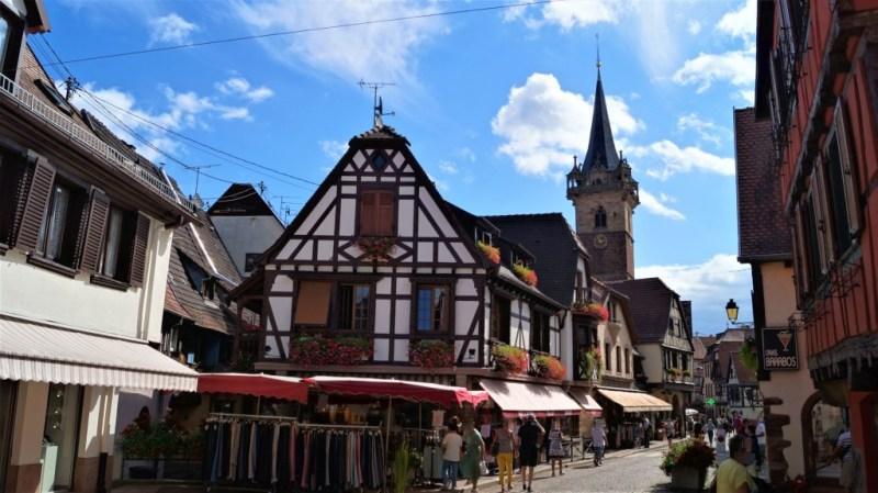 Fachwerkhäuser in Obernai