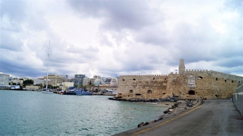 Festung Koules am Hafen von Heraklion
