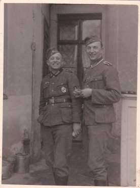 Duitse soldaat wehrmacht Wolfgang wo2