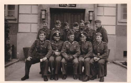 Foto Wehrmacht soldaten tweede wereldoorlog