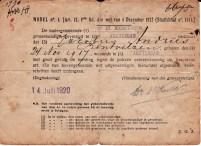Documenten Jacobus Andries Bentvelzen