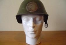 Nederlandse helm uit de tweede wereldoorlog 1940