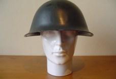 Canadese helm uit de tweede wereldoorlog