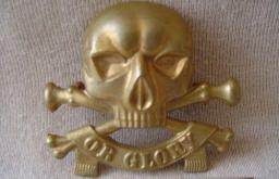 Wo2 Insignes van Britse cavellerie Light Dragoons ww2 or glory