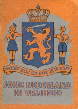 boekje jong Nederland in vrijheid wo2