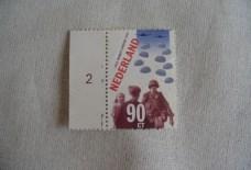 Herdenking en herinnering van de tweede wereldoorlog Arnhem postzegel