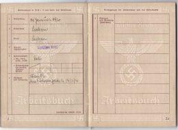 Arbeitsbuch Adelaar met hakenkruis