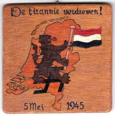 De tirannie verdreven 5 mei 1945