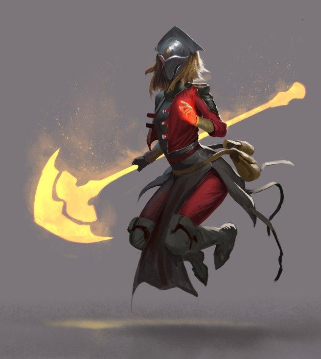 Samurai Sword Girl Wallpaper Art Of Fantasy 55 Josh Corpuz Woelf Dietrich
