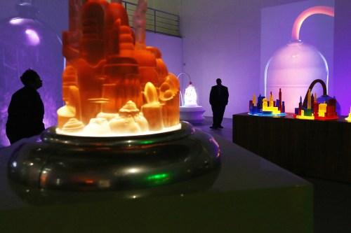 Mike Kelley's 'Kandors' at MOCA (photo: Mike Kelley Foundation for the Arts)