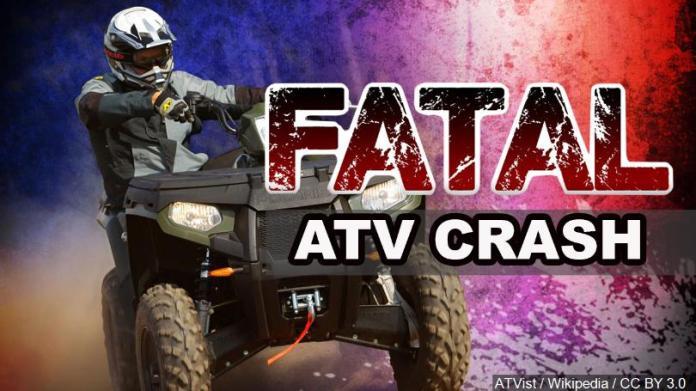 fatal atv crash
