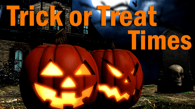 Trick Or Treat Events And Times For 2019 Woay Tv