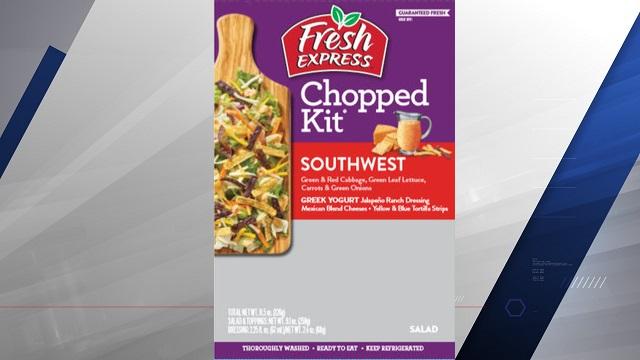 Fresh Express Salad Kits Recalled