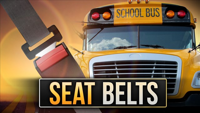 pros and cons of seat belts on school buses