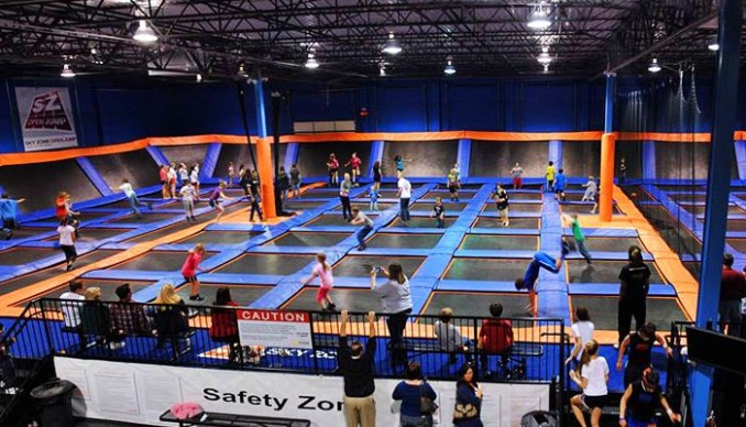 Sky Zone Trampoline Park Opening Soon In Charleston Woay Tv