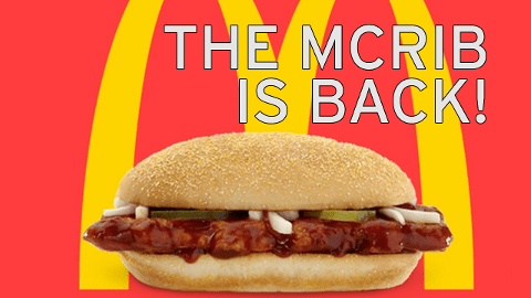 When Is The Mcrib Coming Back 2018