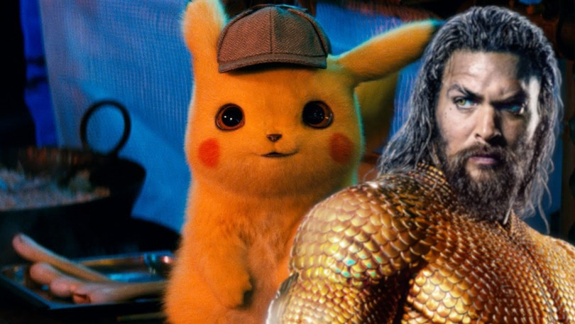 AQUAMAN and DETECTIVE PIKACHU Sequels Are In Development