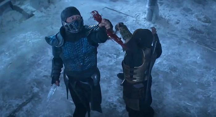 Sub-Zero Battles Scorpion in 2021's Mortal Kombat