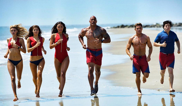 The Cast of 2017's Baywatch