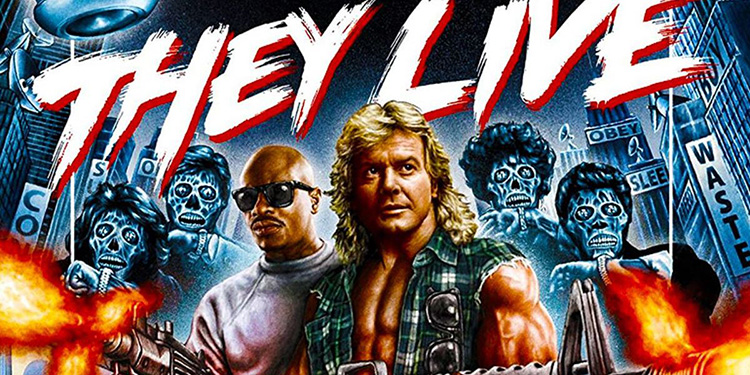 They Live Blu-Ray Cover (Art Credit: Shout Factory)