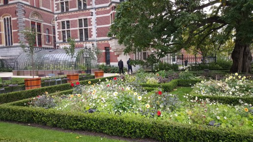 Grounds outside of Rijksmuseum