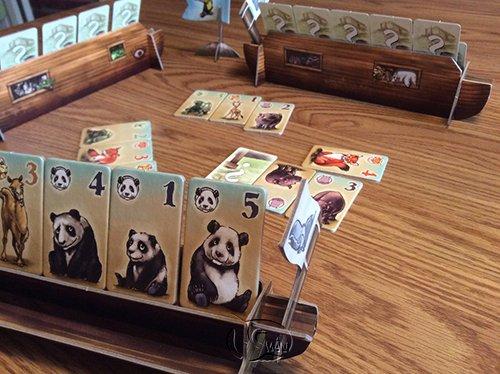 Animals On Board諾亞鬧方舟|香港桌遊天地Welcome On Board Hong Kong|輕策略家長親子遊戲2-4人