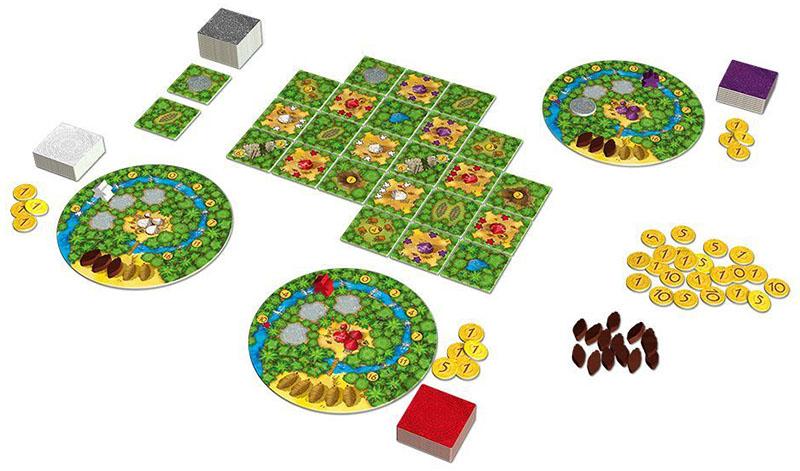 可可亞Cacao|香港桌遊天地Welcome On Board Game Club Hong Kong|經濟類輕策略家庭親子遊戲2-4人