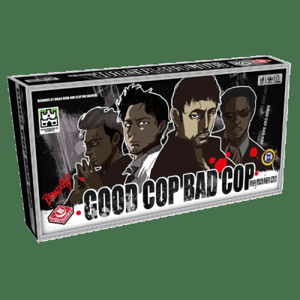 Cover:無間風雲Good Cop Bad Cop|香港桌遊天地Welcome on Board Game Club|推理臥底派對聚會遊戲Party Game4-8人