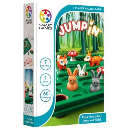 Box: JumpIN' 小兔蹦蹦跳 |香港桌遊天地Welcome On Board Game Club Hong Kong|家庭親子兒童邏輯智力腦筋遊戲玩具禮物1人單人