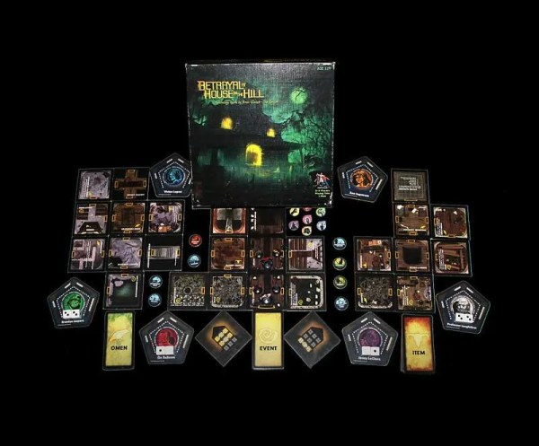 Content:Betrayal at House on the Hill山中小屋|香港桌遊天地Welcome On Board Game Club|美式驚慄電影角色扮演遊戲3-6人