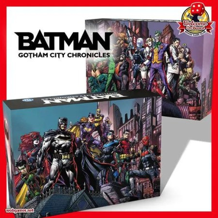Box:Batman:Gotham City Chronicles蝙蝠俠|香港桌遊天地Welcome On Board Game Club Hong Kong|冒險合作策略遊戲Strategy2-4人