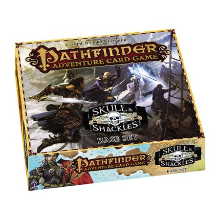 Cover: Pathfinder Adventure Card Game: Skull & Shackles Base Set |香港桌遊天地Welcome On Board Game Club Hong Kong|Coop Fighting戰鬥卡牌遊戲