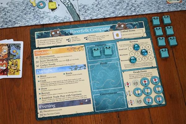 Root: The Riverfolk Expansion (English ver) 茂林源記:河岸擴充 |香港桌遊天地Welcome On Board Game Club Hong Kong| War Strategy 戰爭 策略遊戲