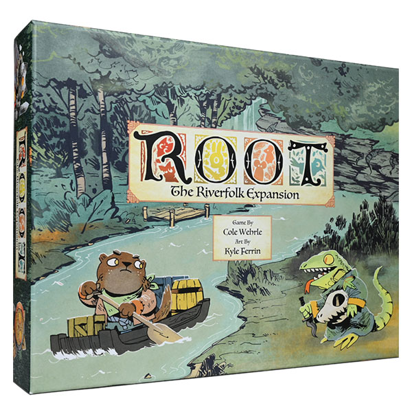 Cover: Root: The Riverfolk Expansion (English) 茂林源記:河岸擴充 |香港桌遊天地Welcome On Board Game Club Hong Kong| War Strategy 戰爭 策略遊戲