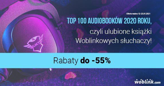 TOP 100 audiobooków woblink 2020