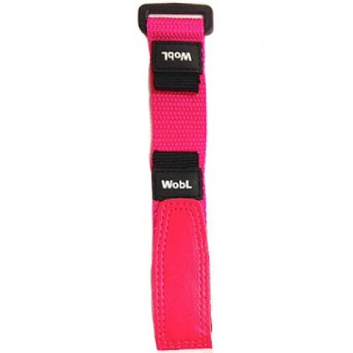 WobL watch bands, woven nylon with hook-and-loop closure