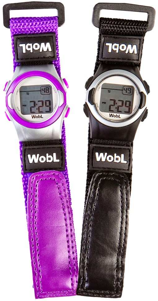 WobL replacement band available in purple or black