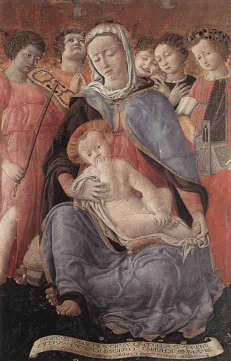 DOMENICO_DI_BARTOLO Madonna dell' umilita
