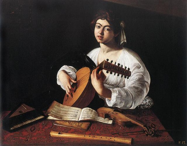 1596_Caravaggio,_The_Lute_Player_The_Hermitage,_St._Petersburg