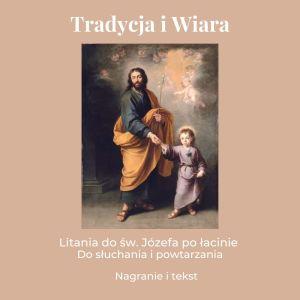 Litania do św. Józefa po łacinie